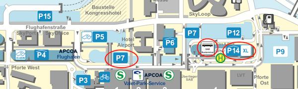 Elektro Tankstelle Flughafen P14 Ebene 3